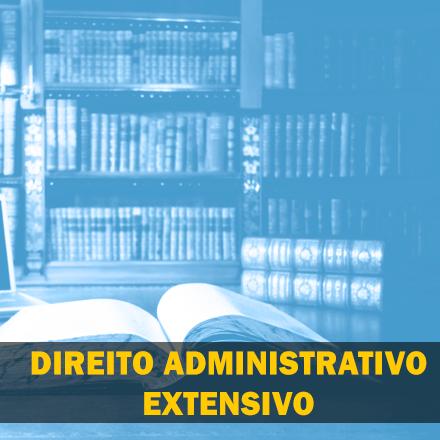 Curso para Direito Administrativo Extensivo